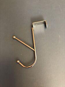 Over The Door Metal Silver Hook