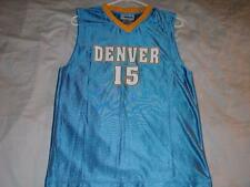 Carmelo Anthony 15 Denver Nuggets NBA Blue Jersey Boys Large 14-16 used