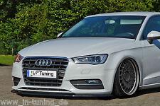 Noak Spada di spoiler Labbro anteriore fuori ABS per Audi A3 8V con ABE