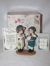 Larry & Lesley Bisque Jan Hagara Figurines With Box 1989