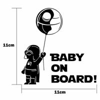 Funny BABY ON BOARD Vinly Reflective Car Vehicles Decal Window Warning Sticker