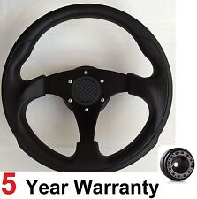 300MM STEERING WHEEL & BOSS KIT FIT LAND ROVER DEFENDER DISCOVERY 29 SPLINE BL