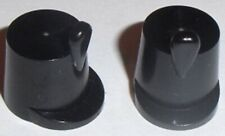 Lego Shako Imperial Soldier Hat x 2 Black for Minifigure