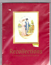 BARGAIN!! Edwardian Couple Recollections Costume Counted Cross Stitch Kit