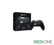 NEW OPEN - Genuine Microsoft XBOX ONE Elite Wireless Controller BLACK HM3-00001