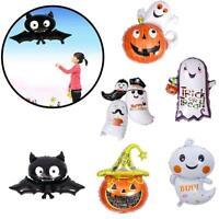 Halloween Pumpkin Ghost Spider Foil Balloon Home Festival Party KTV Decorat Top