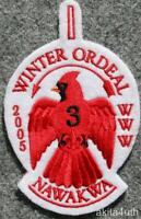 2005 OA Lodge 3 Nawakwa - Winter Ordeal - BSA