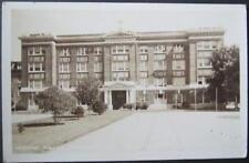 Mount Angel Academy & Normal School Mount Angel OR Real Photo Postcard