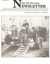 Ford 8N Transmission problems, 9N 2N Tractor Newsletter