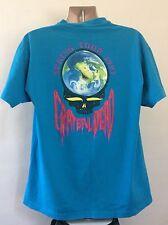 Vtg 1993 Grateful Dead Spring Tour Concert T-Shirt Blue XL 90s Rock Band