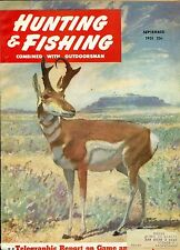 Hunting and Fishing--Sept. 1951-----377