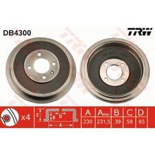 TRW Bremstrommel DB4300 VW CADDY II 2 SEAT INCA 9K 1.4 1.6 1.9 i D SDI TDI
