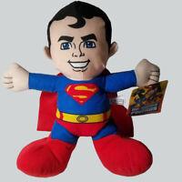 """Superman Plush Doll Super Friends 13"""" Tall DC Comics New"""