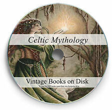 Rare Books Celtic History Mythology Traditions Folklore Art Gaelic Irish DVD 254