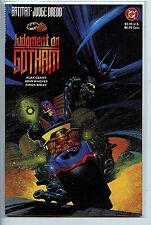 Batman Judge Dredd Judgement on Gotham  nm/m TPB 1st Print New 1991 H7