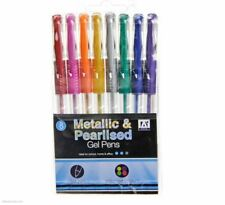 High Quality Free Delivery Metallic Gel Pen Choice of 8 Colours From 95p