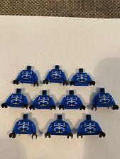 Lego Star Wars Lot Of 10 Senate Commando Captain Minifigure Torsos