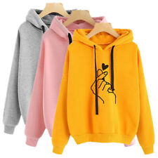 Women's Long Sleeve Tops Hoodie Pullover Sweatshirt Casual Blouse Sweater