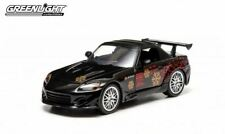 Greenlight 1:43 HONDA S2000 Noir - FAST AND FURIOUS - 86205 - Modèle moulé