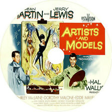 Artists and Models _ Dean Martin Jerry Lewis Shirley MacLaine Rare 1955