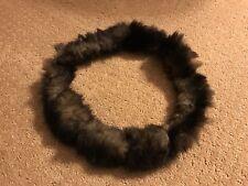 Vintage Ring Of Fur Collar