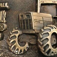 Spec Cast Farmall Works Final Tractor 5-14-85 Brass Belt Belt Buckle
