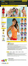 eBay Professional Design Listing Template and Store Layout Theme Yellow, Nice