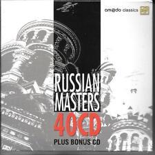 41 CD Rachmaninoff, Tchaikovsky, Prokofiev, Shostakovich 'Russian Masters' NUOVO/NEW