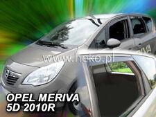 D 2003-2008 Deflettori per Opel MERIVA G 5 porte anteriori 2 pezzi