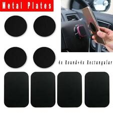 8x Replacement Metal Plate Stickers Kit For Magnetic Cell Phone Mount Holder