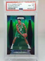 2017 Panini Prizm Green #16 ~ Jayson Tatum ~ PSA 8 Rookie RC Celtics NBA