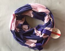 NWT Lululemon Vinyasa Scarf Vitasea BSPL Purple Pink Stripe READ SHIP