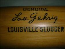 "Old LOU GEHRIG Bat 34"" Vintage Louisville Slugger 125 Hillerich & Bradsby YANKEE"