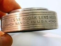Kodak series 6 VI  lens hood metal 44.5mm threaded screw in type