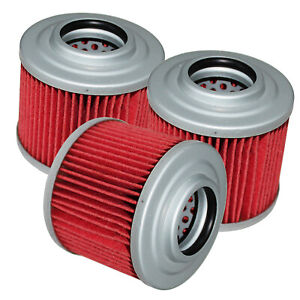 for BMW G650Gs Sertao 650 2009 2010 2011 2012 2013 2014 Oil Filters 3-Pack