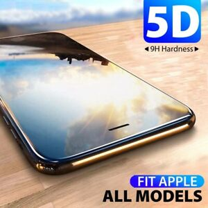 5D Full Cover Tempered Glass Screen Protector For Apple iPhone 8 7 6 6s Plus Sl