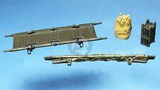 Djiti's 1/35 Military Stretcher (Open & Folded Cot / Litter) Set (2 sets) 35042