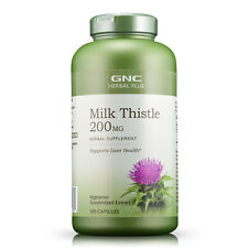 GNC Herbal Plus Milk Thistle 200 MG 300 caps …