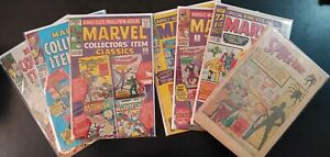 ⭐️ MARVEL TALES #1-4 COLLECTOR's ITEM #1, 6 & 13 (1965 MARVEL Comics) LOW GRADE