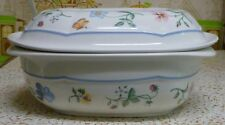 Villeroy & Boch MARIPOSA 1 Quart Microwave Safe Porcelaine Covered Oval Baker