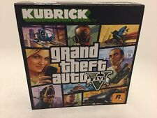 Grand Theft Auto V Anniversary Kubrick Figure Set Rare Limited GTA V Rockstar