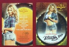 2013 Benchwarmer Thanksgiving 11-28-13 Malorie Mackey Autograph Card # 19
