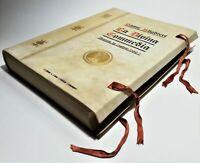 La Divina Commedia Dante Alighieri incisioni Gustavo Dorè 1937 pelle fregi d'oro