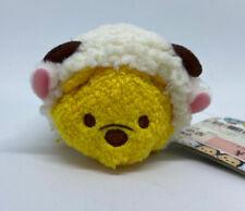 "Disney Store Tsum Mini Plush 3.5"" JAPAN Year of the Sheep Pooh 2015 💕 US SELLER"