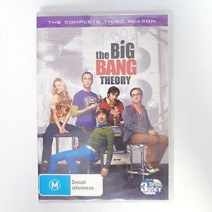 The Big Bang Theory Season 3 DVD TV Series Free Post Region 4 AUS - Comedy