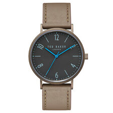 Ted Baker - HANK Green Leather Strap Watch in Presentation Gift Box
