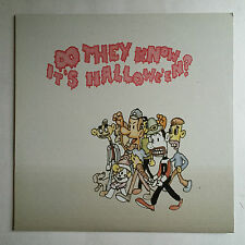 DO THEY KNOW IT'S HALLOWE'EN? - 12 INCH VINYL * MINT * FREE P&P UK VICE RECORDS