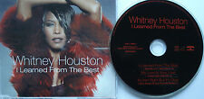 Whitney Houston    ~~~  I LEARNED FROM THE BEST  ~~~ GERMAN MCD ~~~