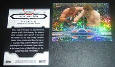 Roy Nelson UFC 2013 Topps Finest Refractor Card #87 Big Country MMA 137 166 159