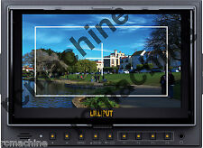 """Lilliput 7"""" 5D-II/O/P PEAKING HDMI In & Out Monitor+2400mAh Bat+cable+shoe mount"""